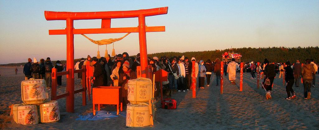 JAPAN fukude shogatsu travel new years hinode sunrise shinto