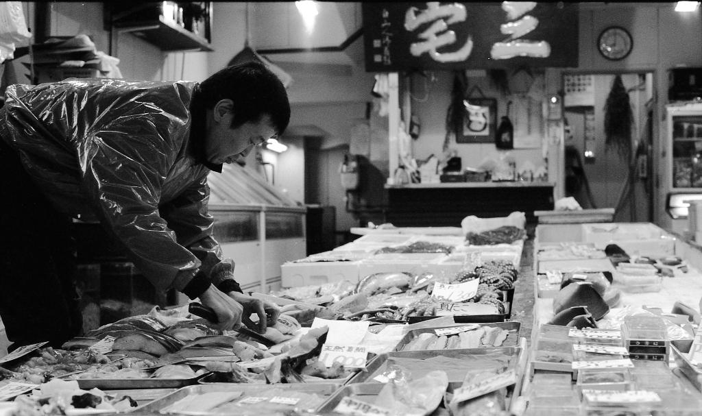 JAPAN TRAVEL TOKYO TSUKIJI FISHMARKET