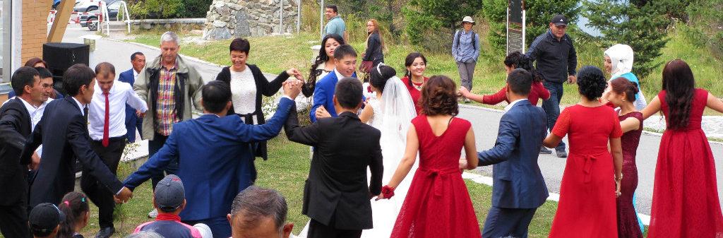 KYRGYZSTAN Bishkek Ala Archa National Park wedding dancing hiking travel silk road central asia adventure
