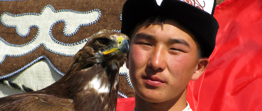 KYRGYZSTAN Nomad Games Cholpon Ata Issy Kol travel silk road central asia adventure eagle hunter